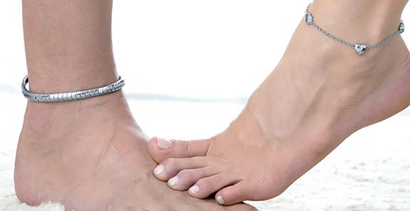 Energetix náramky na nohu s magnety