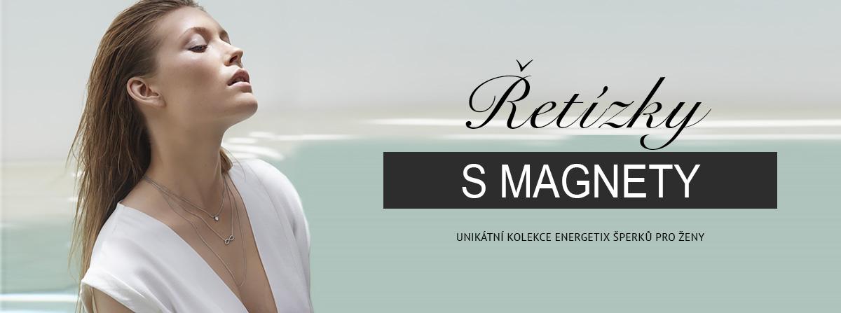 Magnetické řetízky Energetix pro Ženy